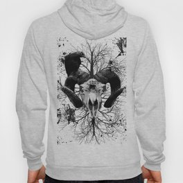 Wings and Horns of Death Hoody