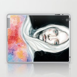 Too many thoughts crowd my mind... Laptop & iPad Skin