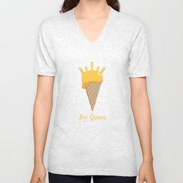 Ice Queen Ice Cream Unisex V-Neck