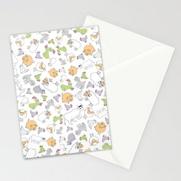 The Little Farm Animals Stationery Cards