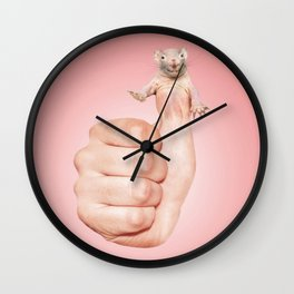 Mouse likes you Wall Clock