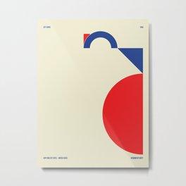 New York City — City Series Metal Print
