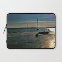 Crab claw on pier | In a Pinch | Severna Park, MD Laptop Sleeve