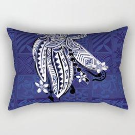 Hawaiian - Samoan - Polynesian Tribal Threads Print Rectangular Pillow