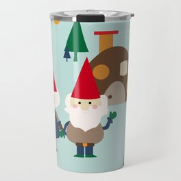 gnome blue Travel Mug