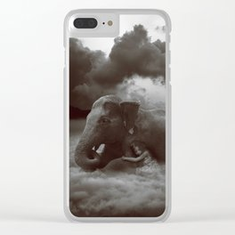 Soft Heart In a Cruel World Clear iPhone Case