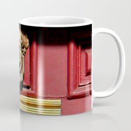 Stage Door 1889 - Please Knock Coffee Mug