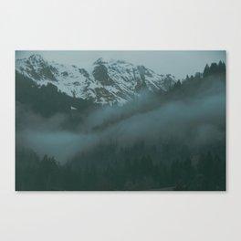 Swiss Fog VII Canvas Print