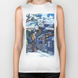 Under the Cherry Blossoms, Spring Biker Tank