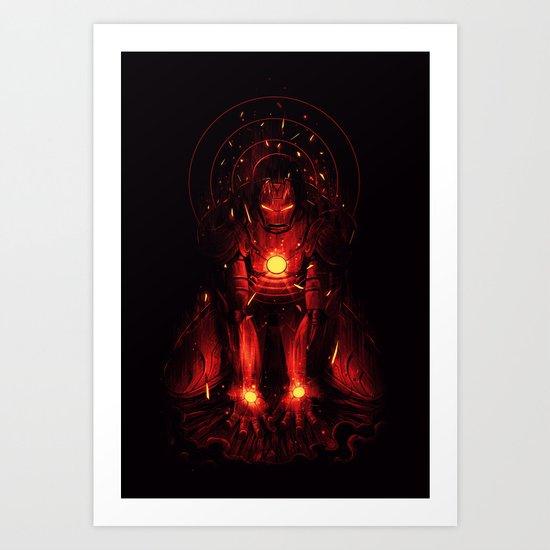 Recharge Art Print