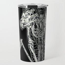 DEATH of Tarot Cat Travel Mug