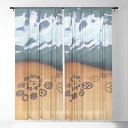 Gears Sheer Curtain