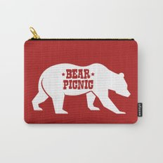 Bear Silhouette  Carry-All Pouch