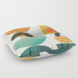 Modern Abstract Art 72 Floor Pillow