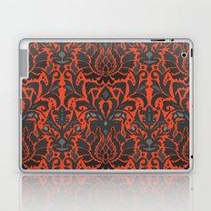 Aya damask orange Laptop & iPad Skin