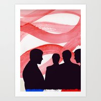 godard Art Prints featuring Godard  by John Murphy