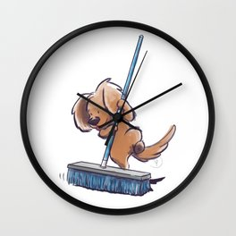 Potato Wins by a Clean Sweep! Wall Clock