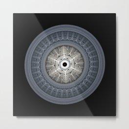 Julian Mandala #9 Metal Print