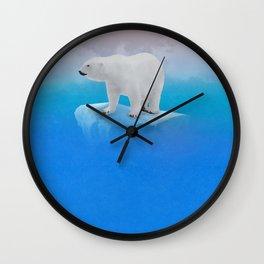 Onto the Shore  Wall Clock