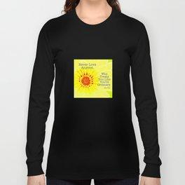 Oscar Wilde Quote Long Sleeve T-shirt
