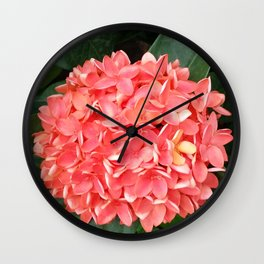 ORANGE BOUQUET Wall Clock