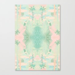 TROPICAL THEME Canvas Print