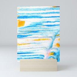soft sea breeze Mini Art Print