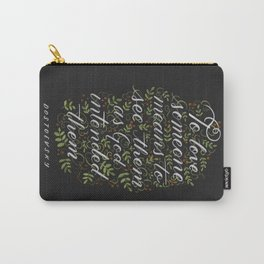 To Love Someone Dostoevsky Quote Carry-All Pouch