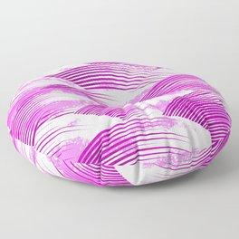 Pink Clouds Floor Pillow