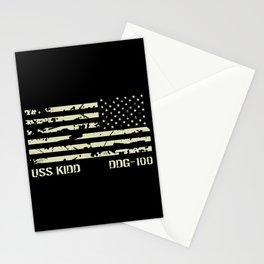 USS Kidd Stationery Cards