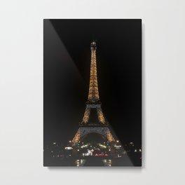 Ville des Lumières 6 Metal Print