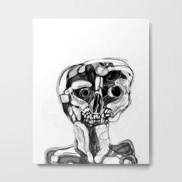 Memory Portrait IV Metal Print