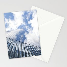 Skyscraper double Stationery Cards