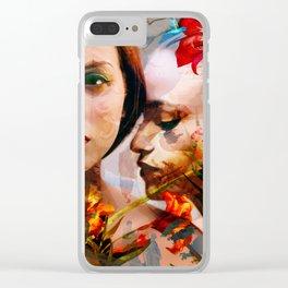 beautiful lies Clear iPhone Case