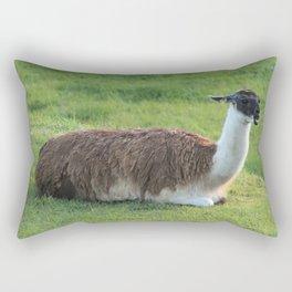 Peruvian Llama Rectangular Pillow