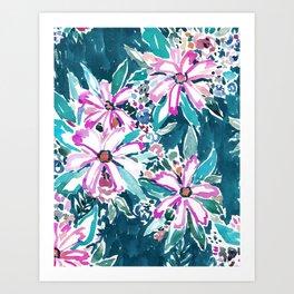 GARDENS OF TIBURON Floral Art Print