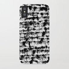 Black Pattern#2 Slim Case iPhone X