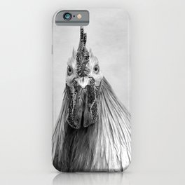 Gulp! In Mono iPhone Case