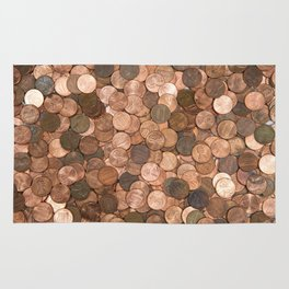 Pennies for your thoughts Rug