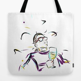 can't you see im LEISURING! Tote Bag
