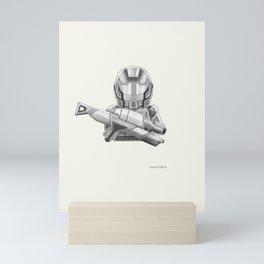 The Commander Mini Art Print
