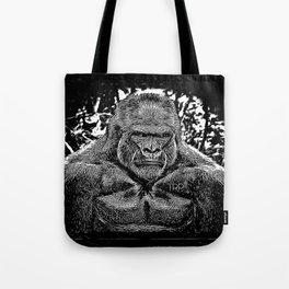 Primate Models: Mad Gorillas 01-02 Tote Bag