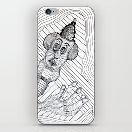 Mouse Fingers iPhone Skin