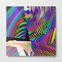 Rainbow Strate Metal Print