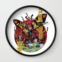 Monster VS Monster Wall Clock