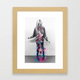 Status Update Framed Art Print