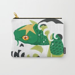 Astro Koi Green Carry-All Pouch