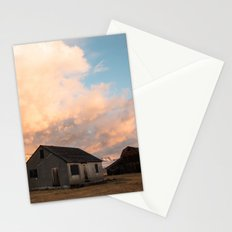 Sunrise at an Abandoned Farm Stationery Cards