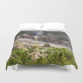 Thunderous beauty of Barron Falls Duvet Cover