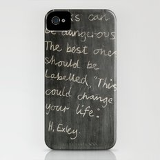 Books can be dangerous Slim Case iPhone (4, 4s)